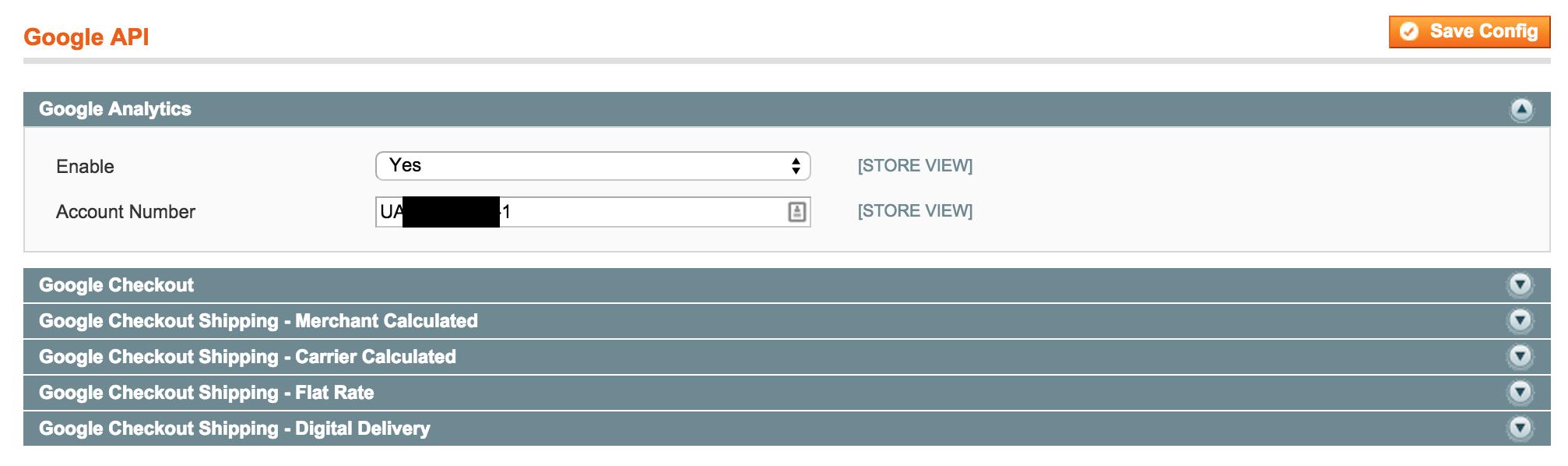 Cài Google Analytics trong Magento