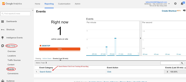 Events - Google Analytics